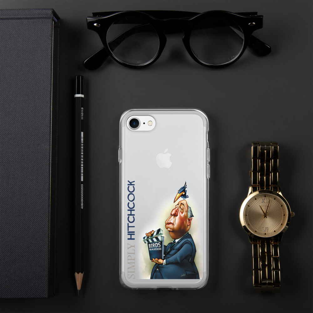 Simply Hitchcock iPhone Case