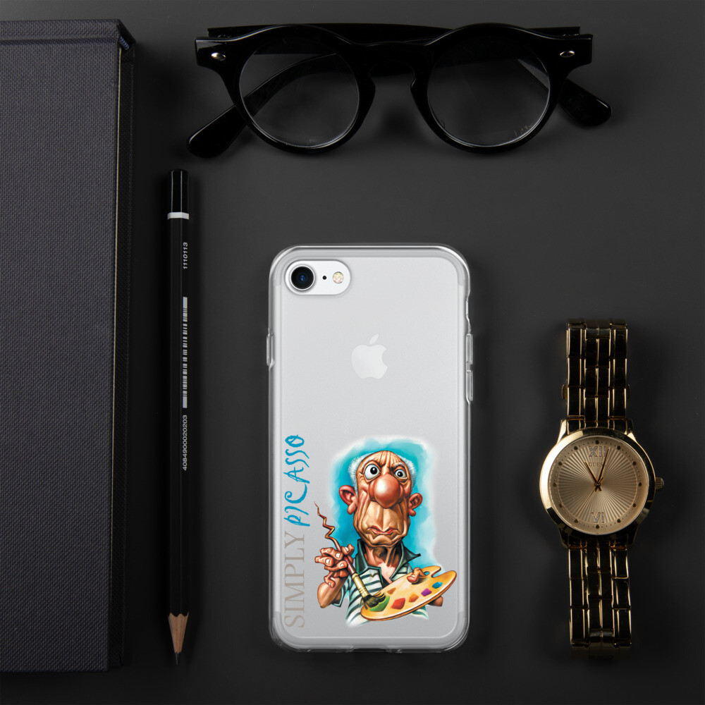 Simply Picasso iPhone Case