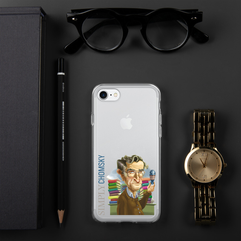 Simply Chomsky iPhone Case