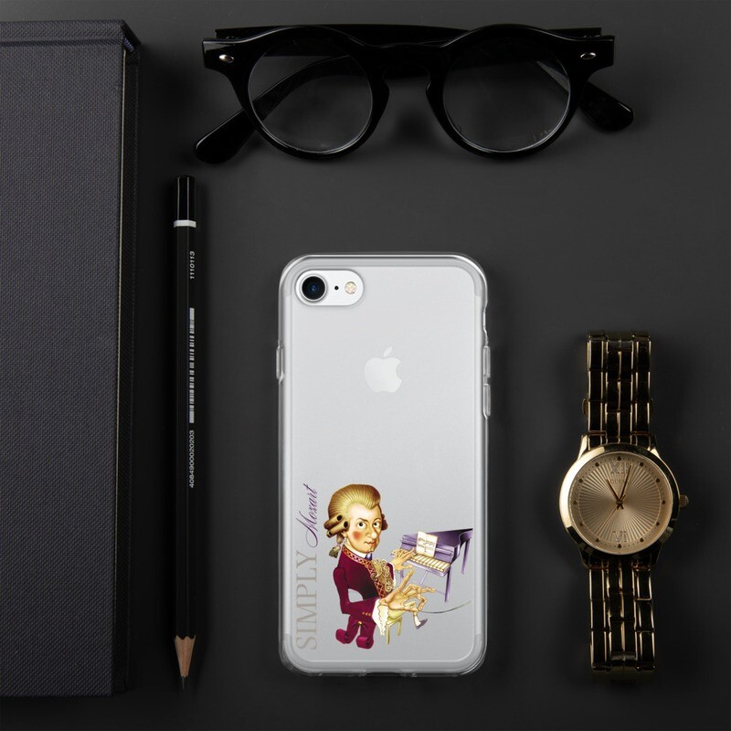 Simply Mozart iPhone Case