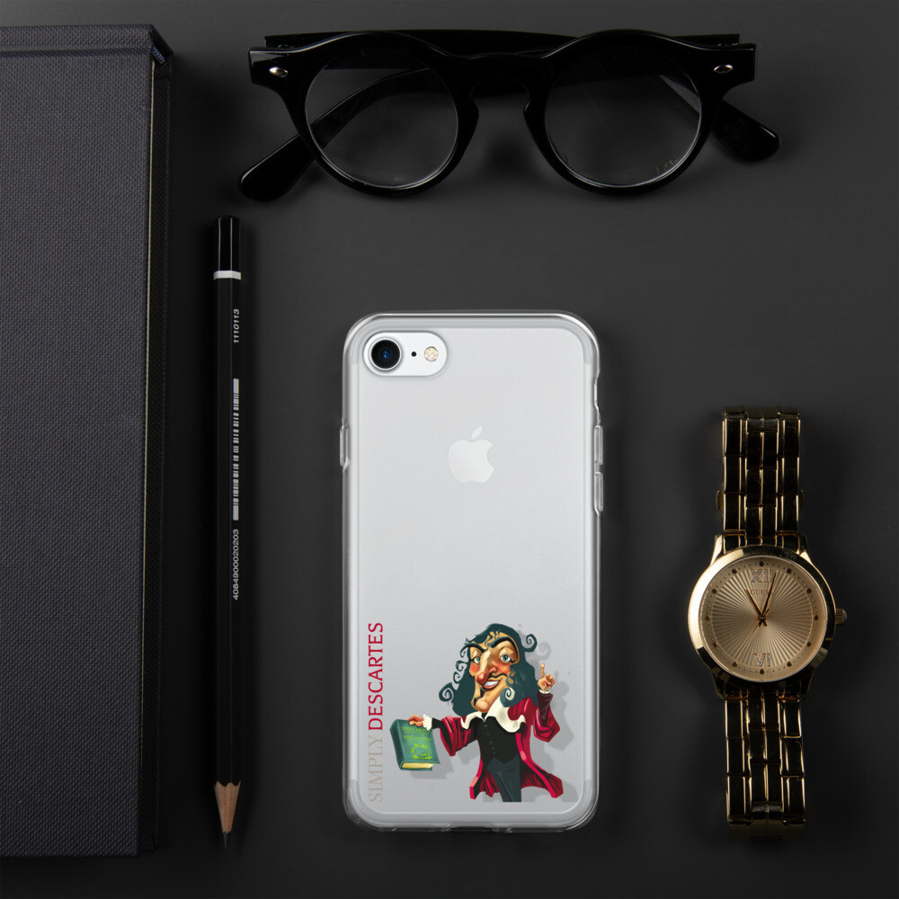 Simply Descartes iPhone Case
