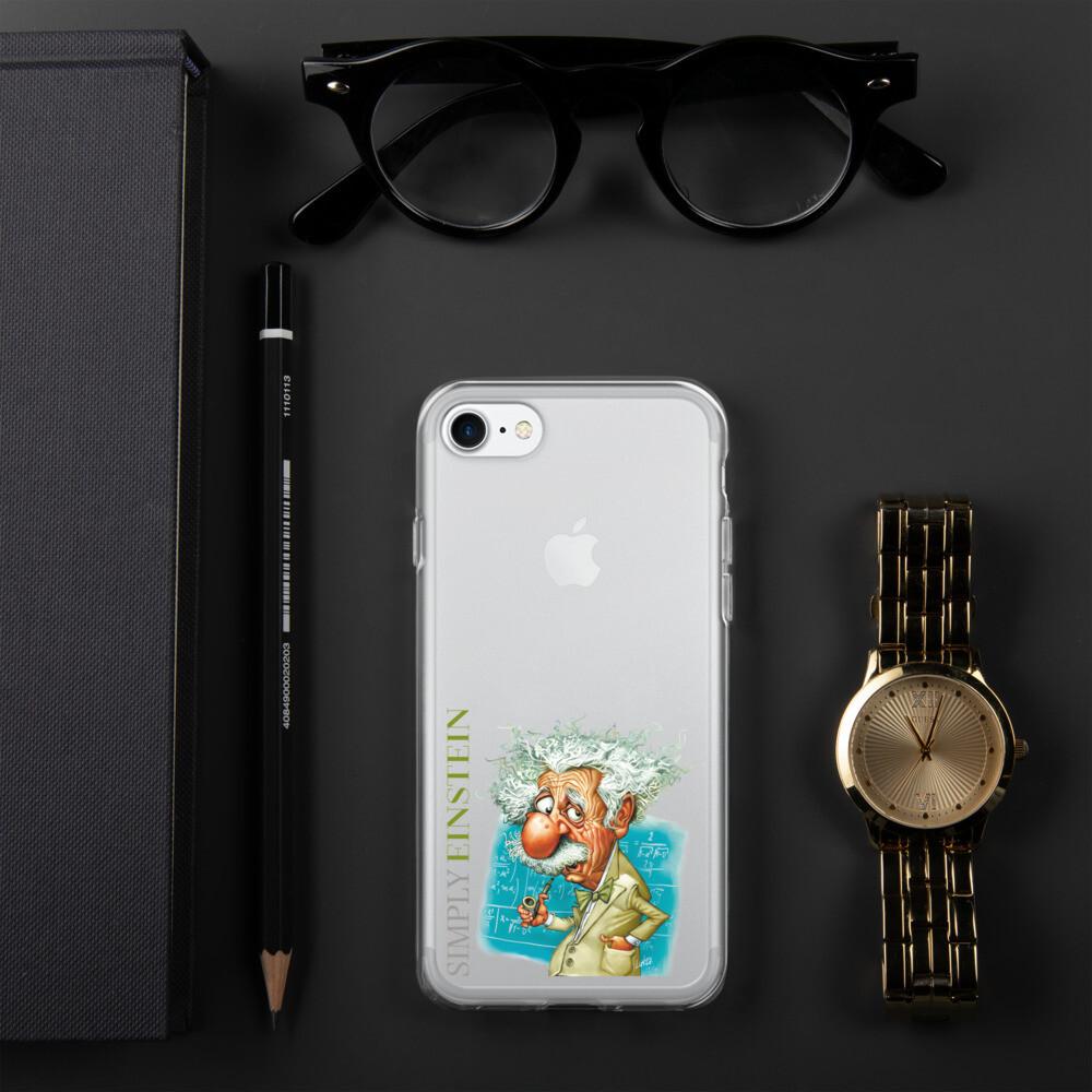 Simply Einstein iPhone Case