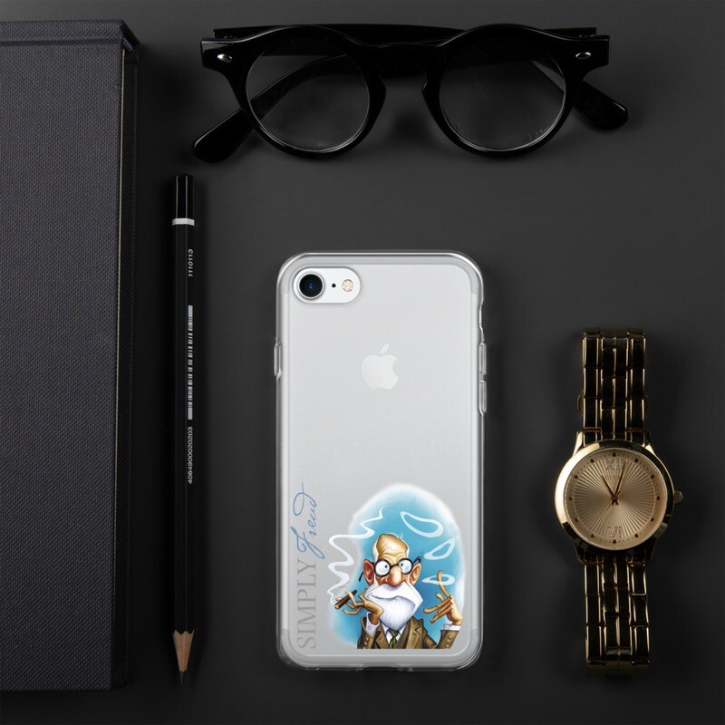 Simply Freud iPhone Case