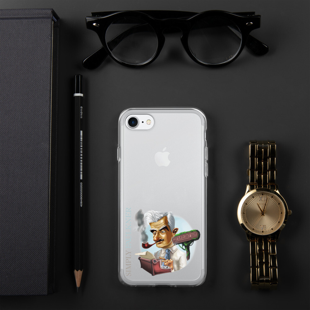 Simply Faulkner iPhone Case