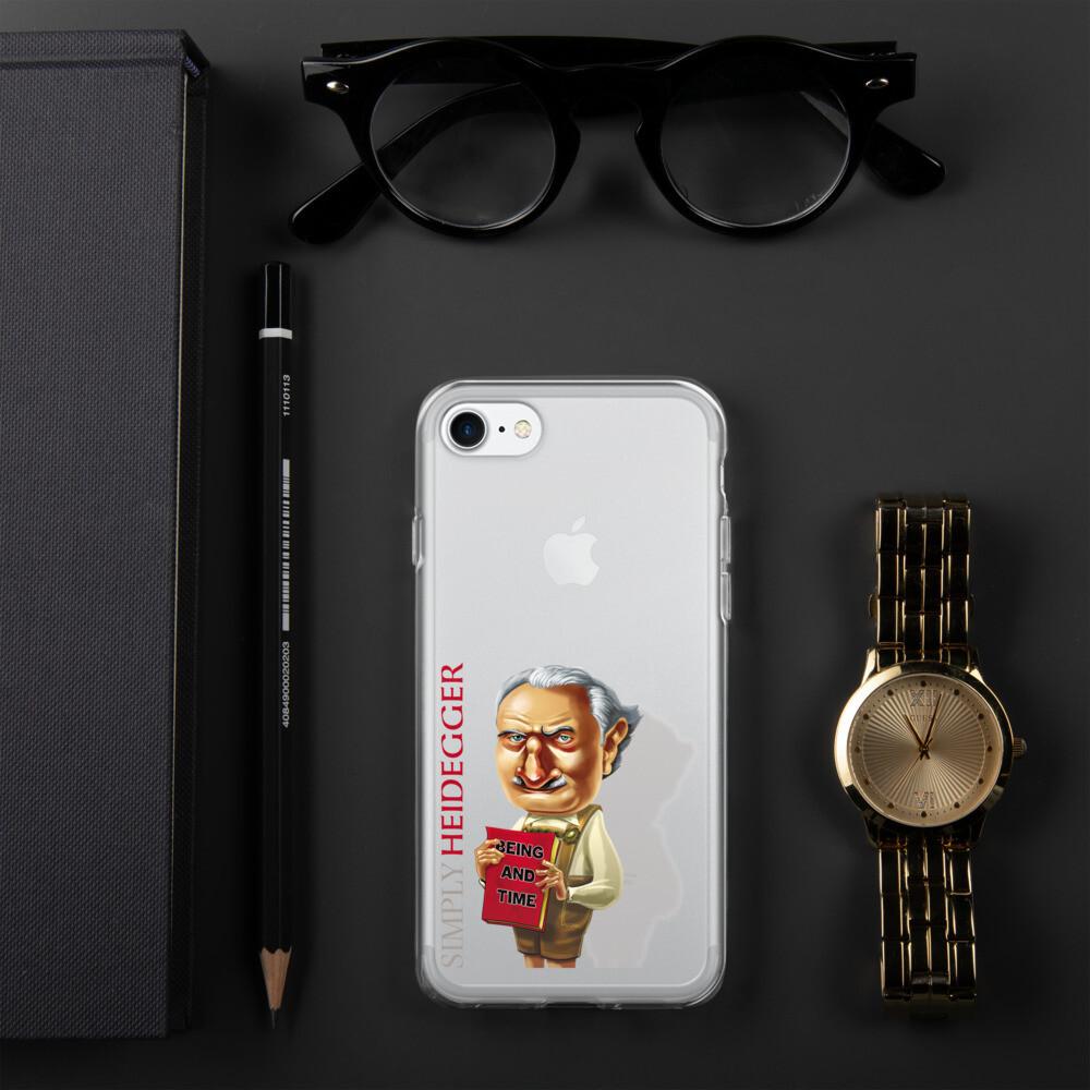Simply Heidegger iPhone Case