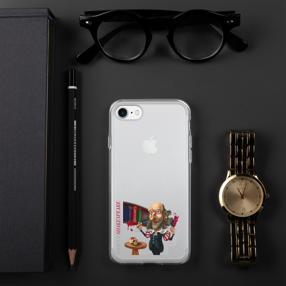 Simply Shakespeare iPhone Case