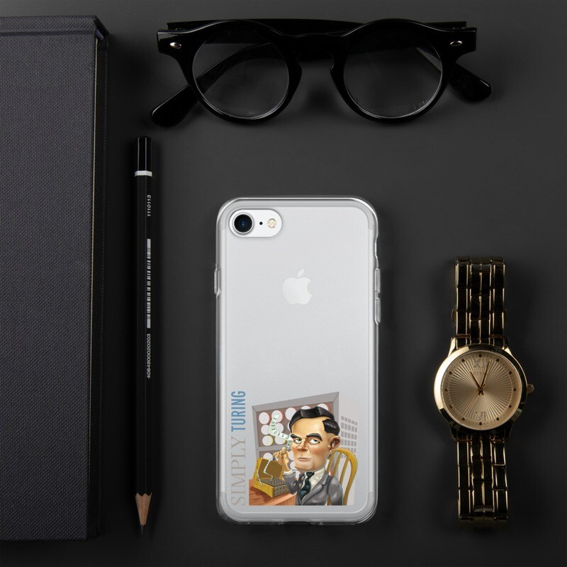 Simply Turing iPhone Case