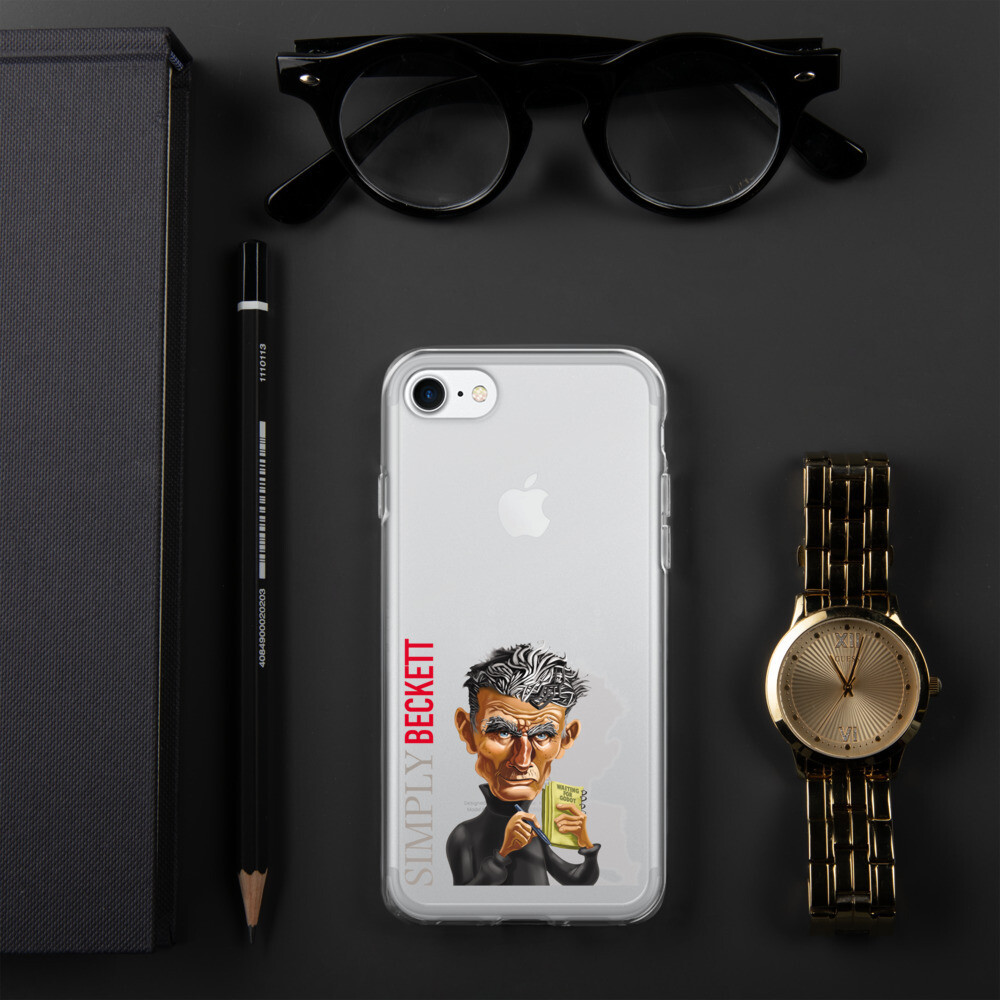 Simply Beckett iPhone Case