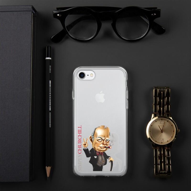Simply Churchill iPhone Case