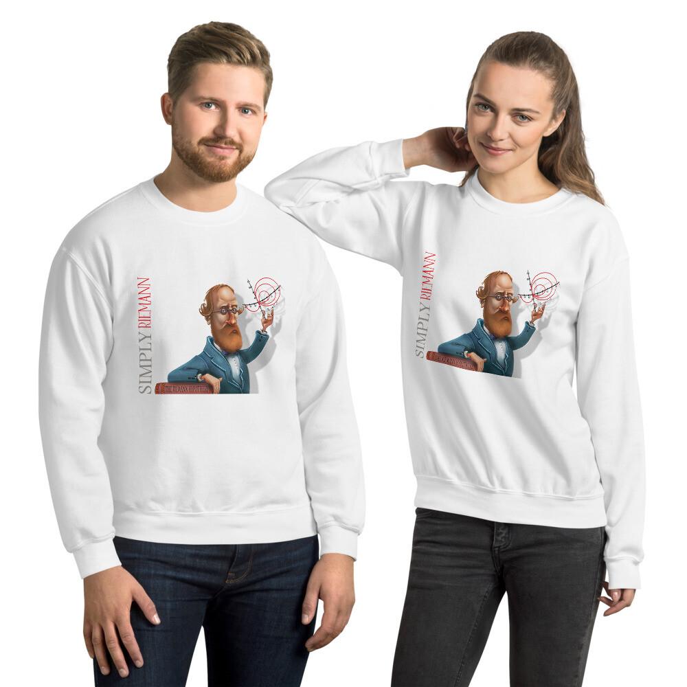 Simply Riemann Unisex Sweatshirt