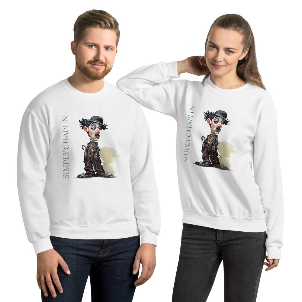 Simply Chaplin Unisex Sweatshirt