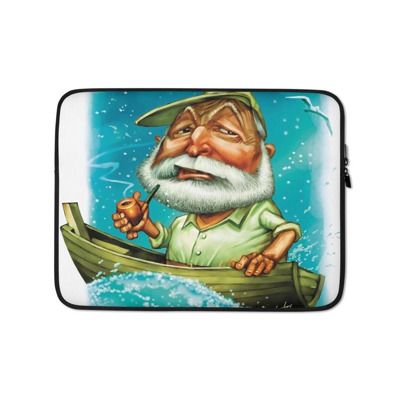 Ernest Hemingway Laptop Sleeve