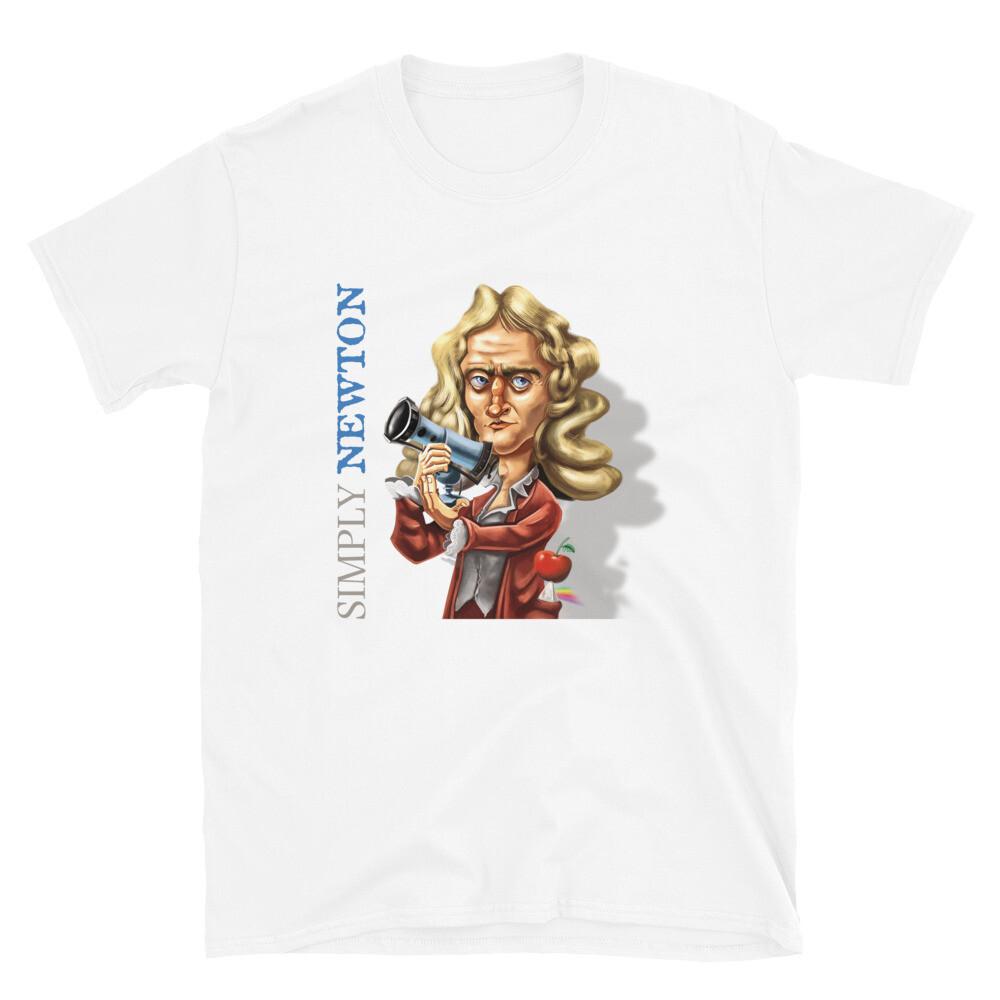 Simply Newton Short-Sleeve Unisex T-Shirt