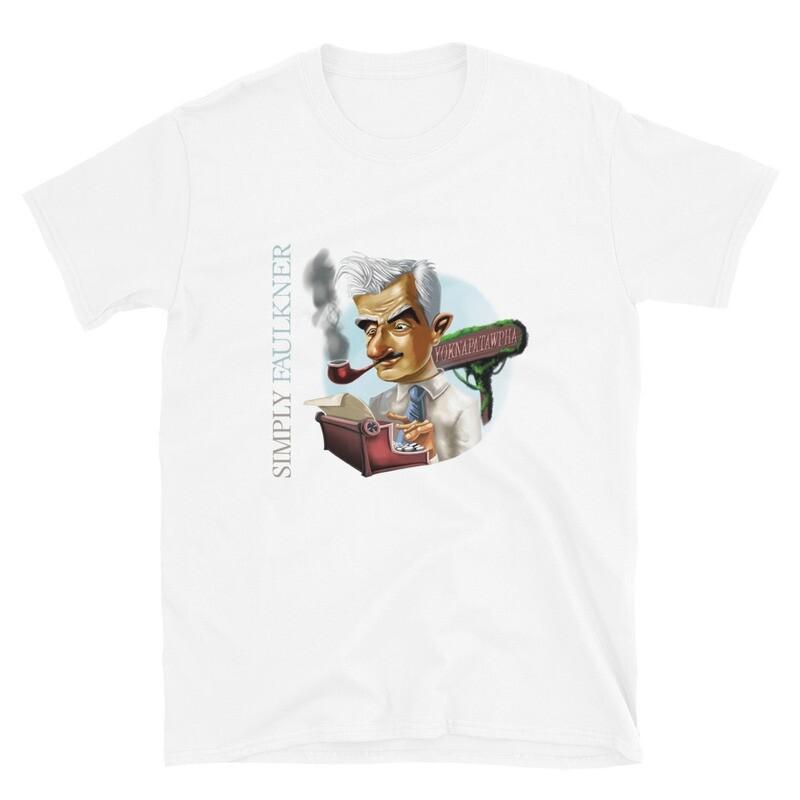 Simply Faulkner Short-Sleeve Unisex T-Shirt