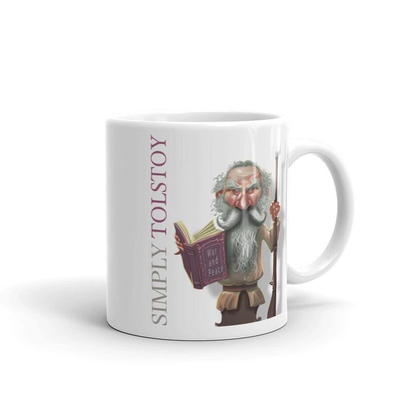 Simply Tolstoy Mug