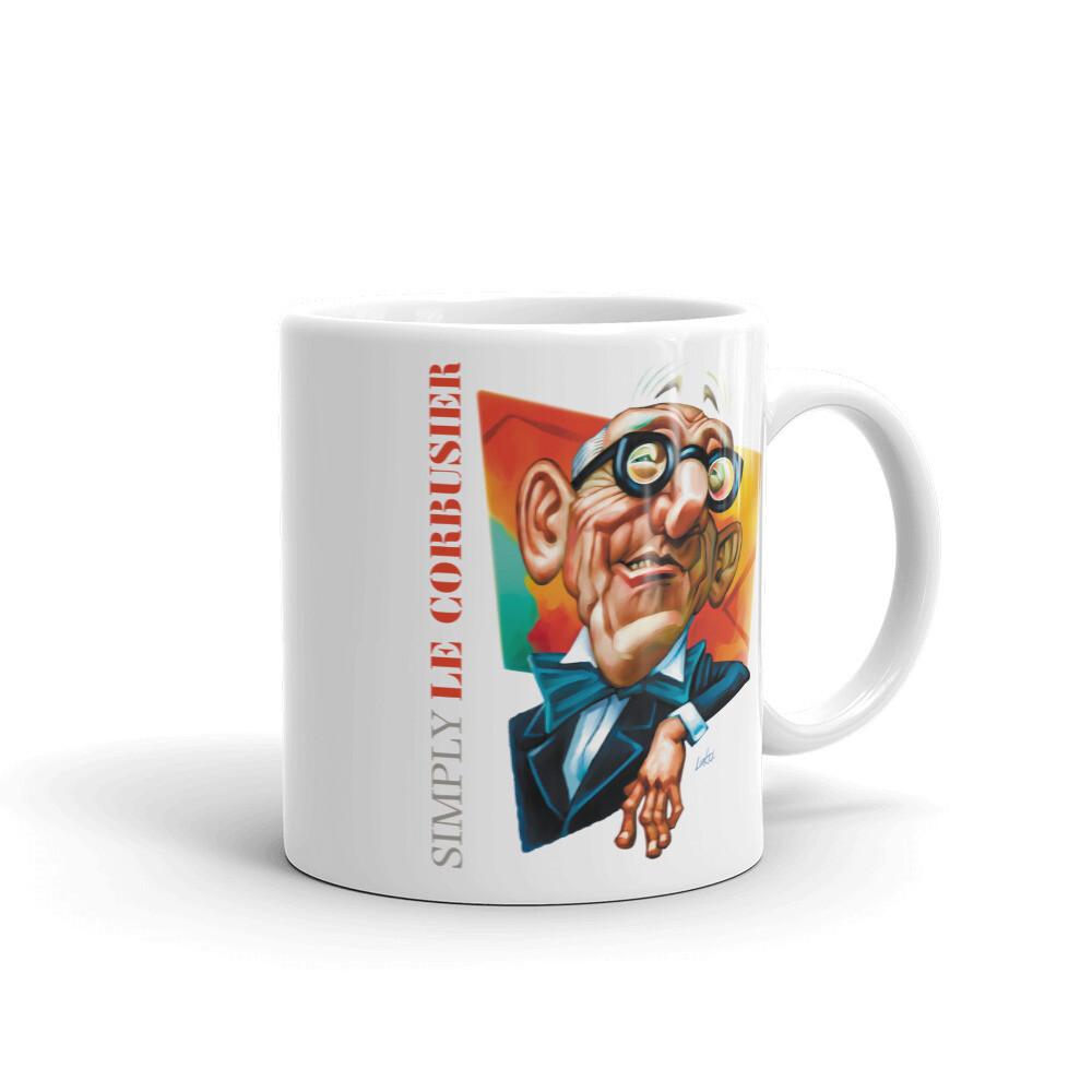 Simply Le Corbusier Mug