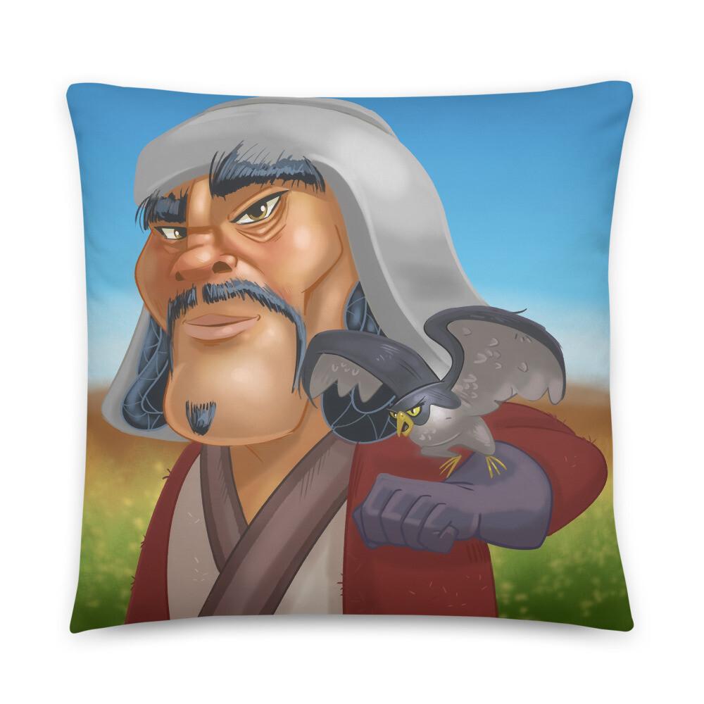 Chinggis Khan Basic Pillow