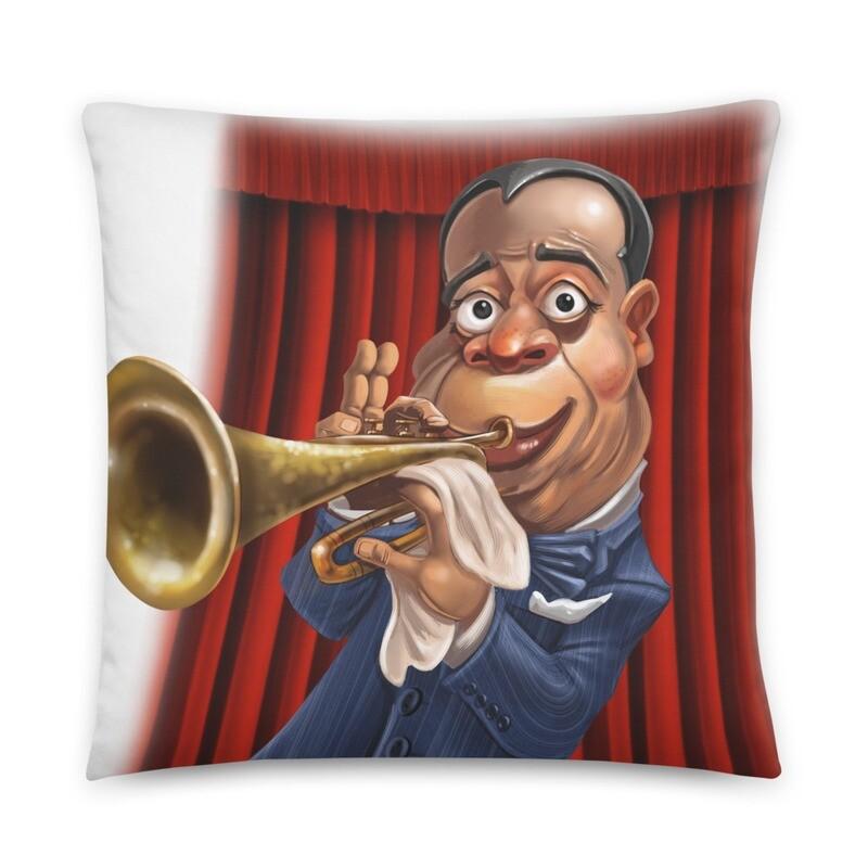 Louis Armstrong Basic Pillow