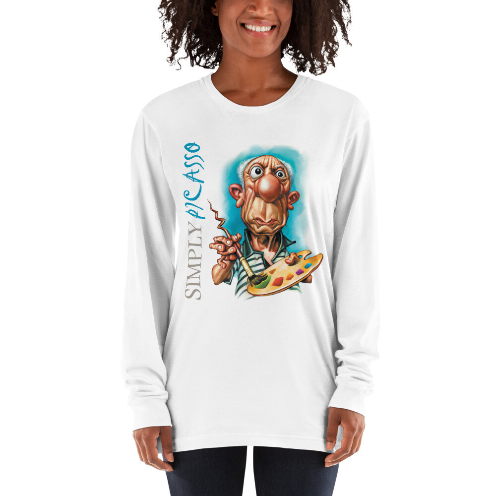 Simply Picasso Long sleeve t-shirt