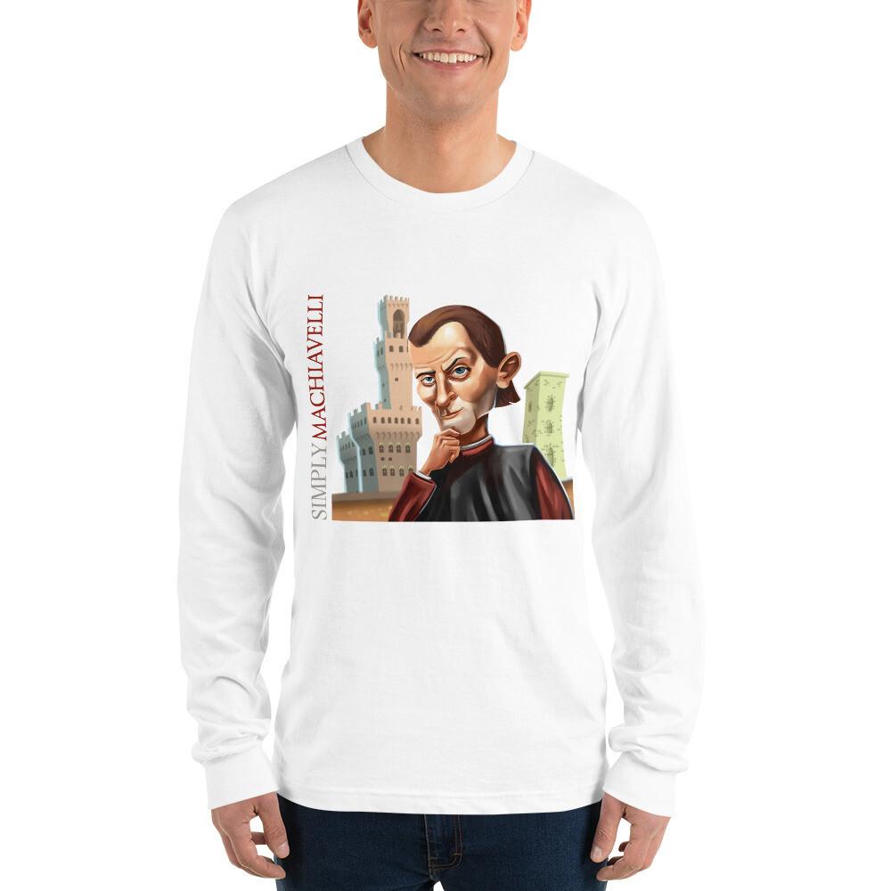 Simply Machiavelli Long sleeve t-shirt