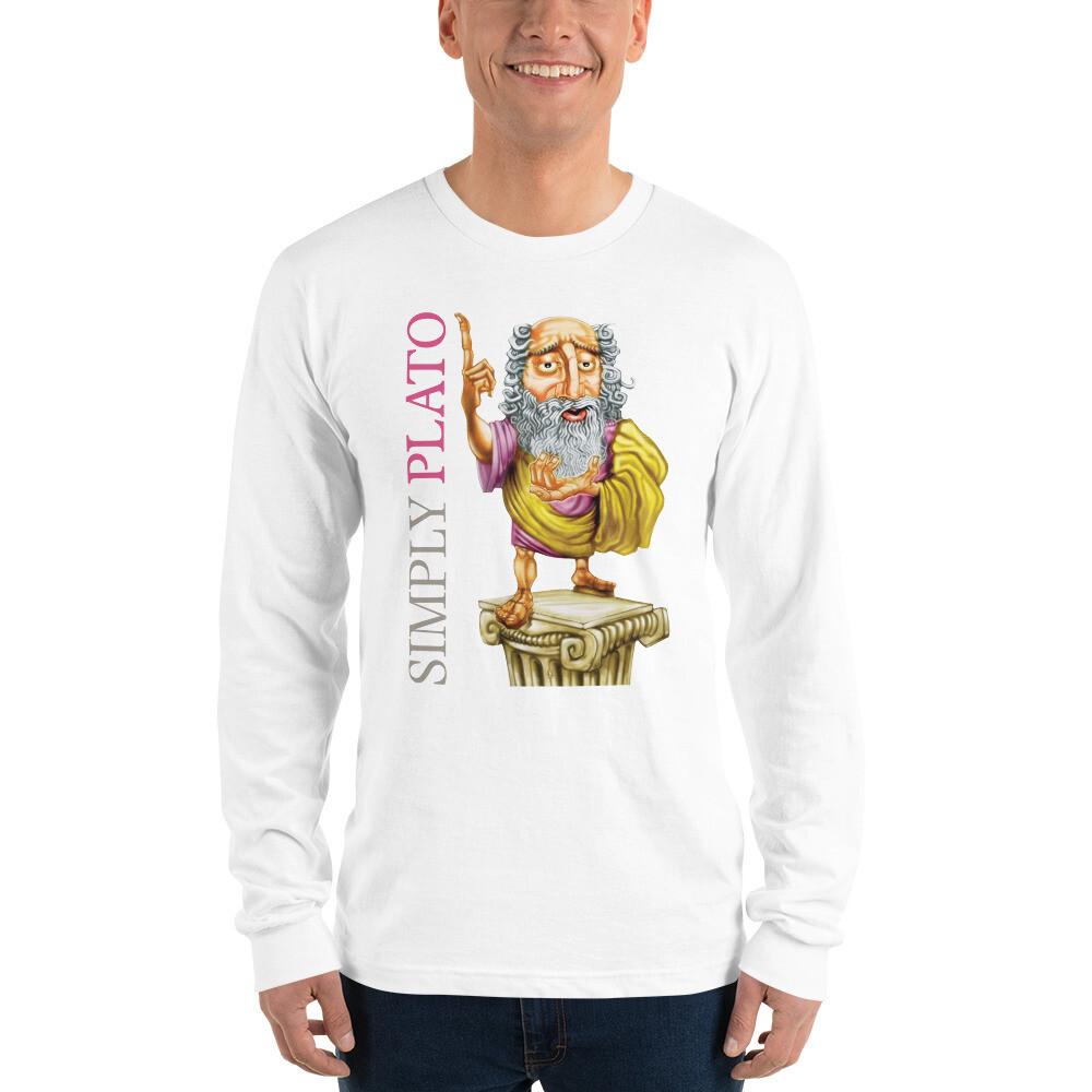 Simply Plato Long sleeve t-shirt