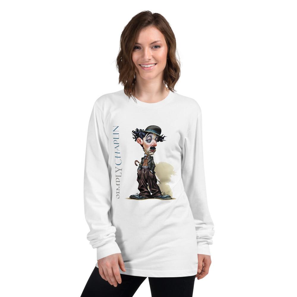 Simply Chaplin Long sleeve t-shirt