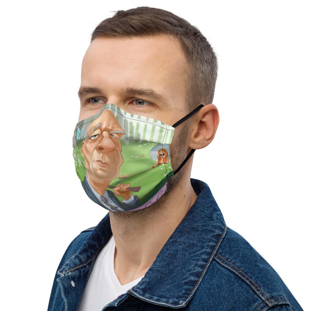 Vladimir Nabokov Premium face mask