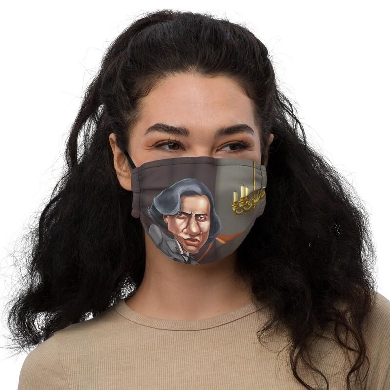 Frédéric Chopin Premium face mask