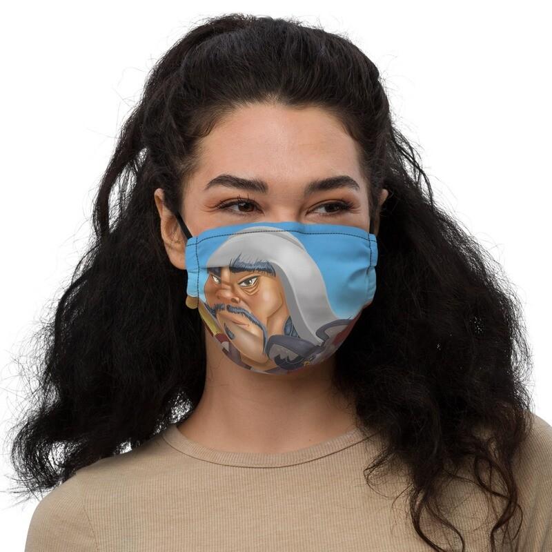 Chinggis Khan Premium face mask