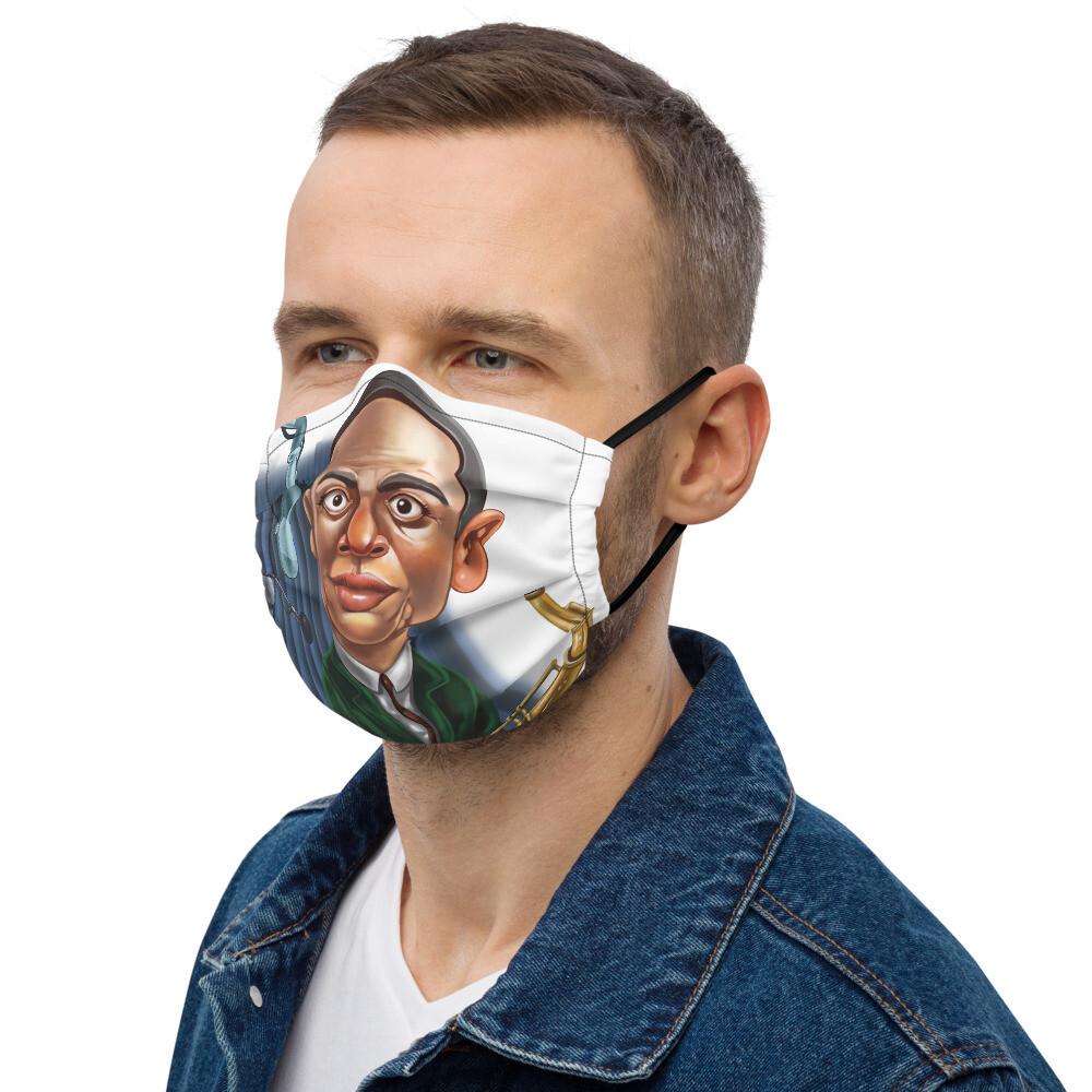 John Coltrane Premium face mask