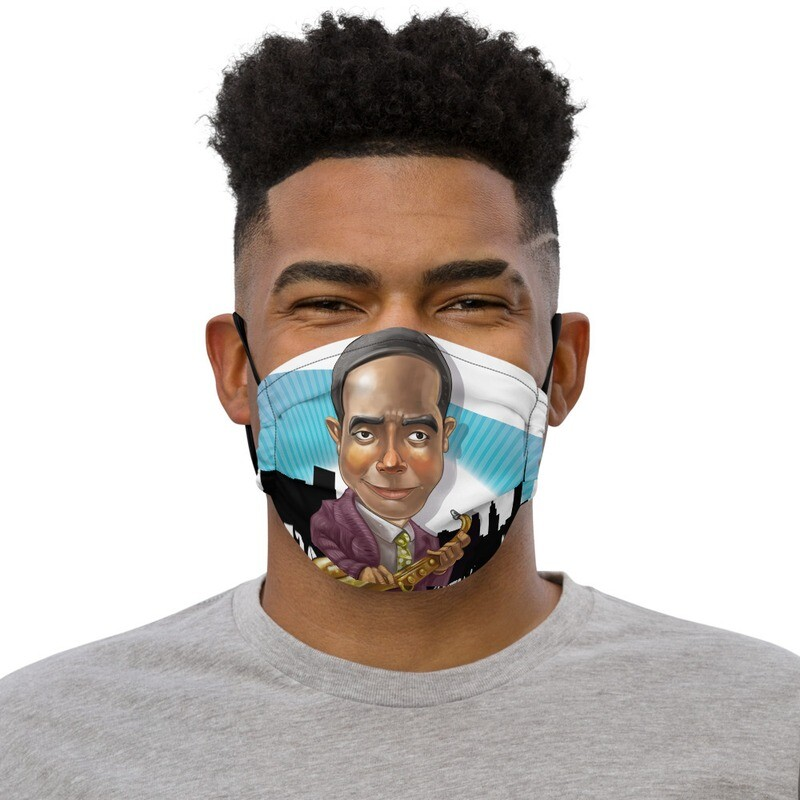 Charlie Parker Premium face mask