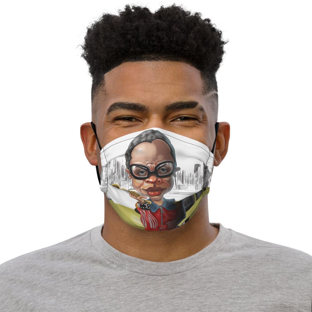 Miles Davis Premium face mask