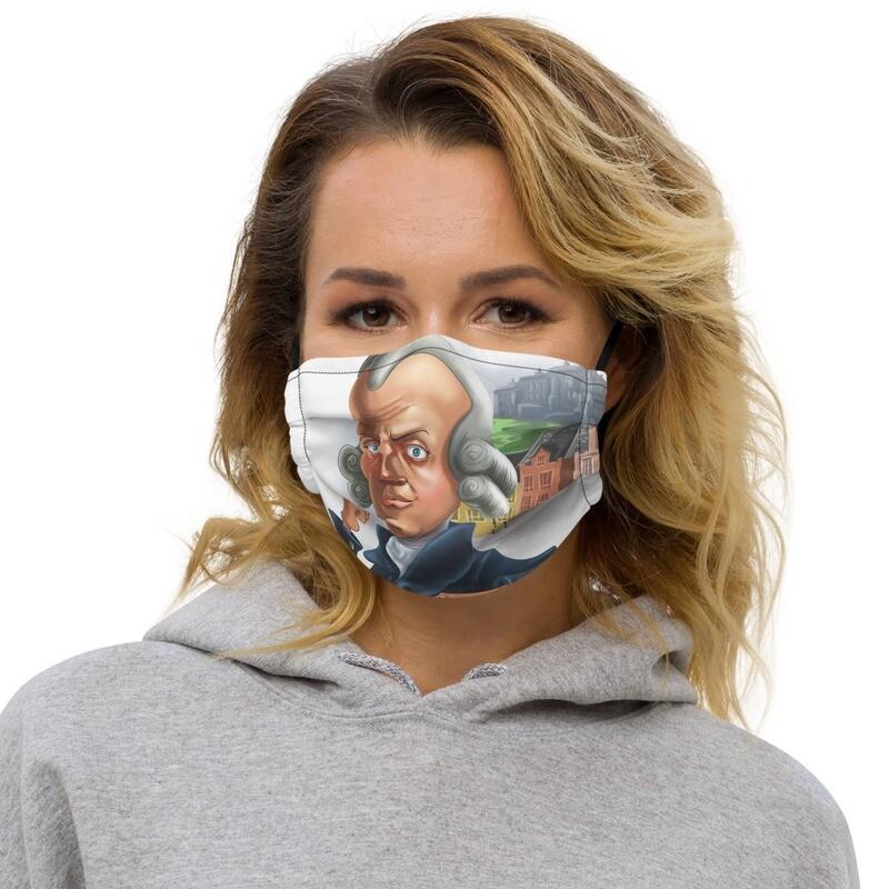 Adam Smith Premium face mask