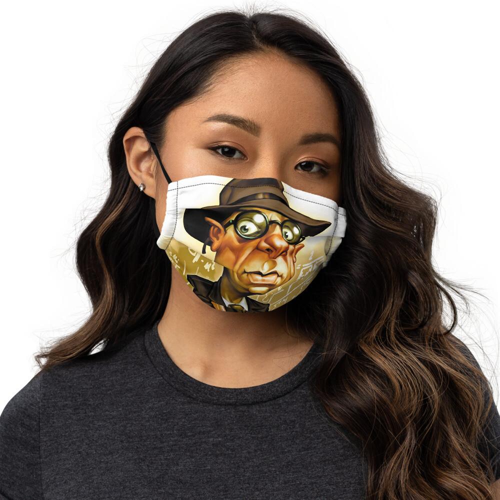 Kurt Gödel Premium face mask