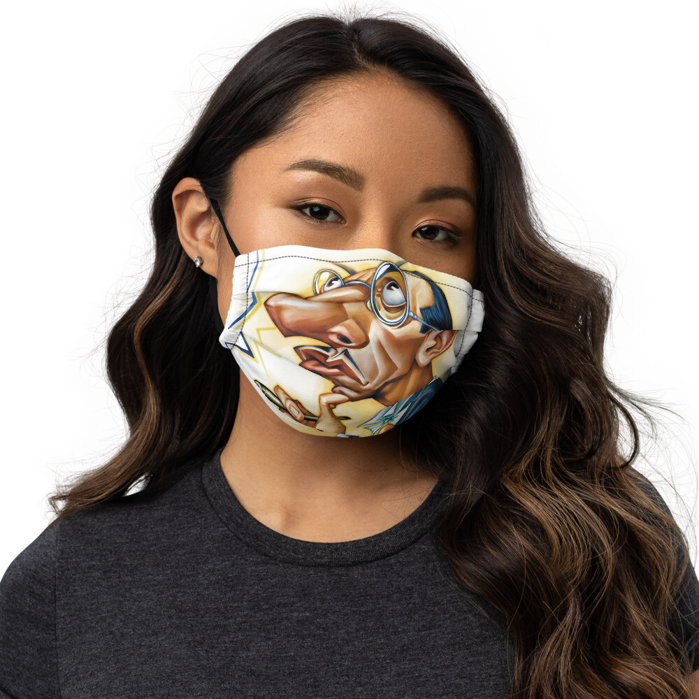 Igor Stravinsky Premium face mask