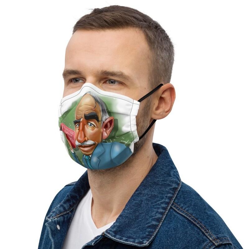 John Maynard Keynes Premium face mask