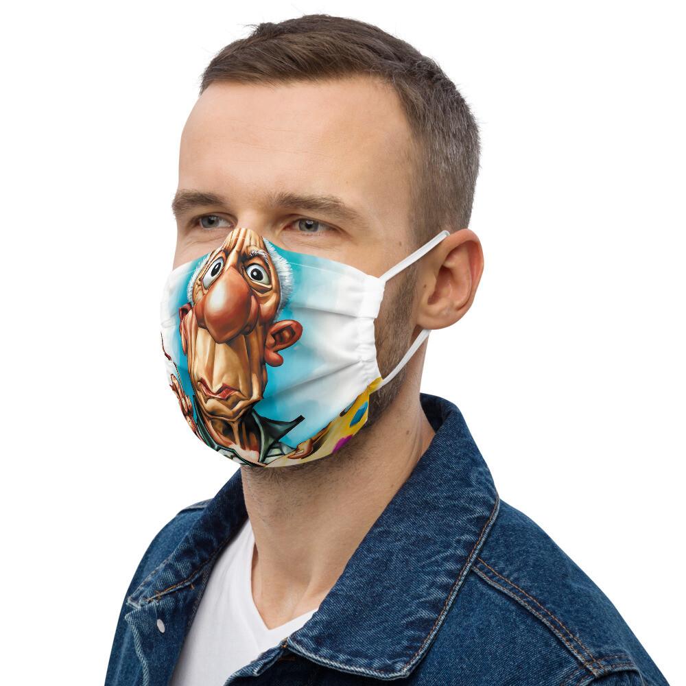 Pablo Picasso Premium face mask