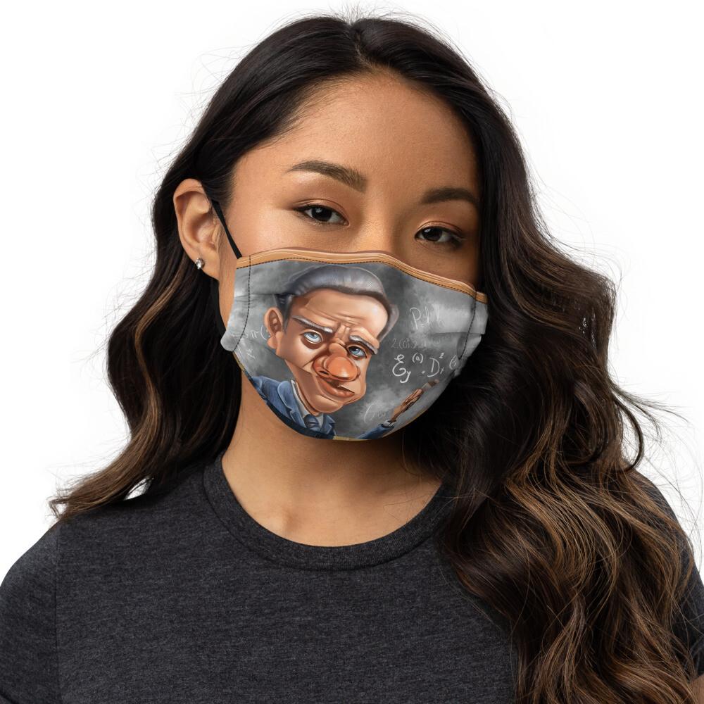 Niels Bohr Premium face mask
