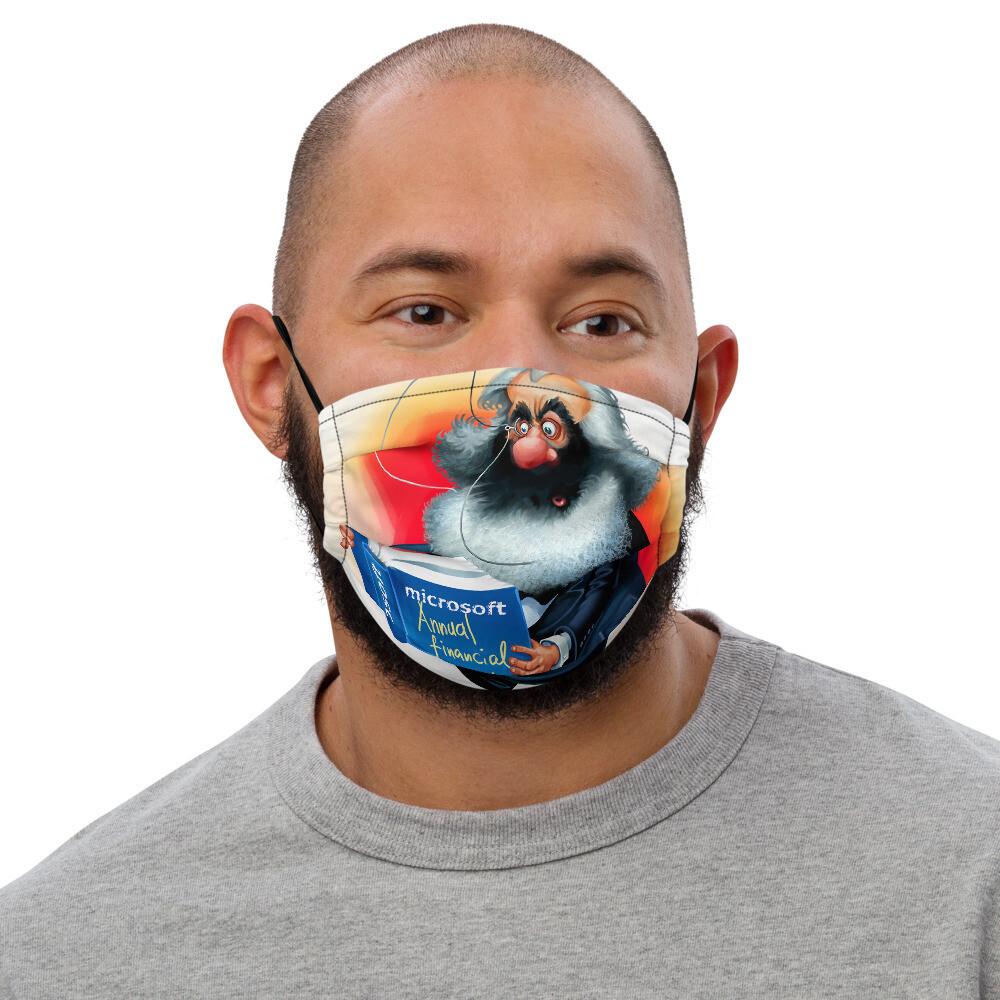 Karl Marx Premium face mask