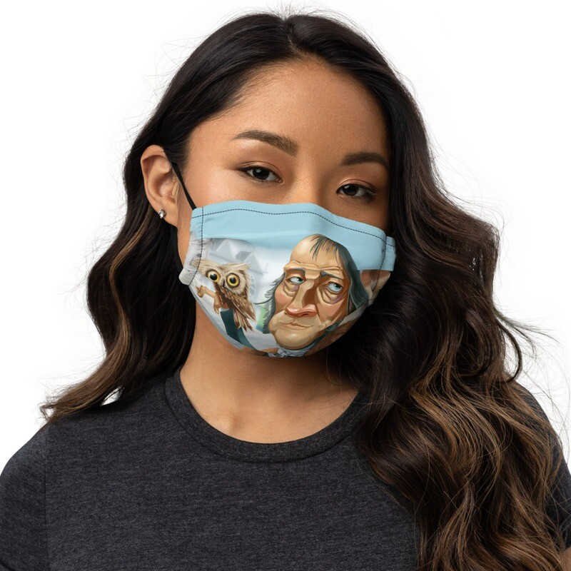 Georg Hegel Premium face mask