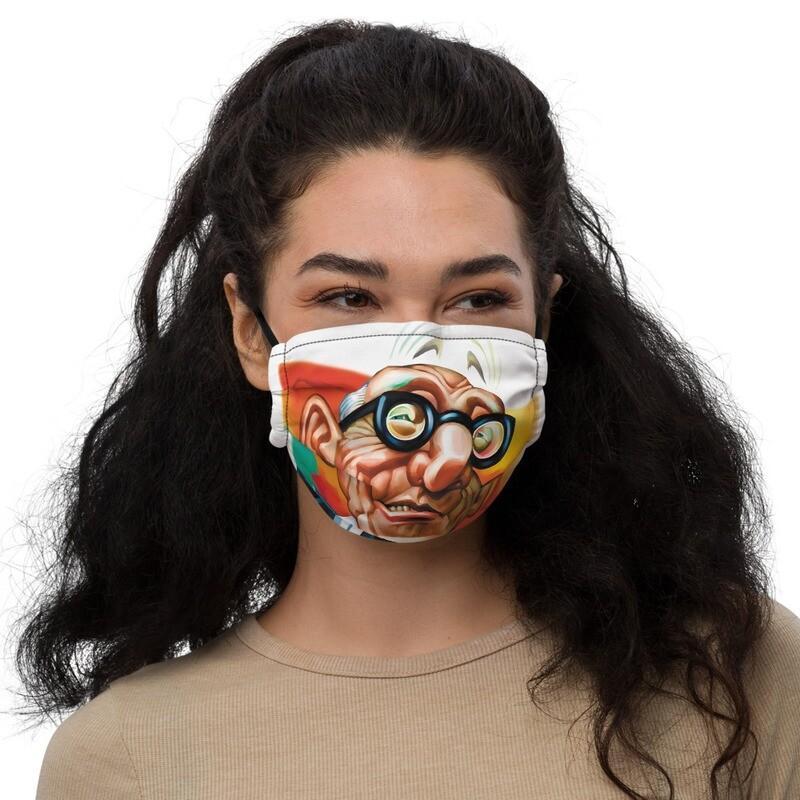 Le Corbusier Premium face mask