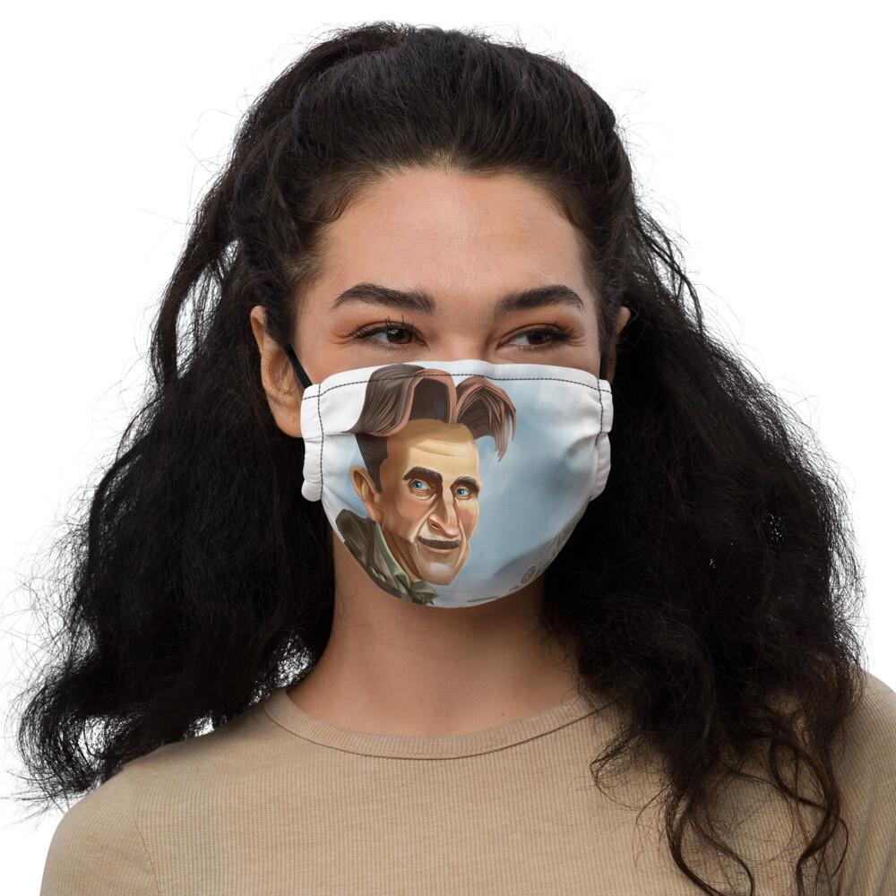 George Orwell Premium face mask