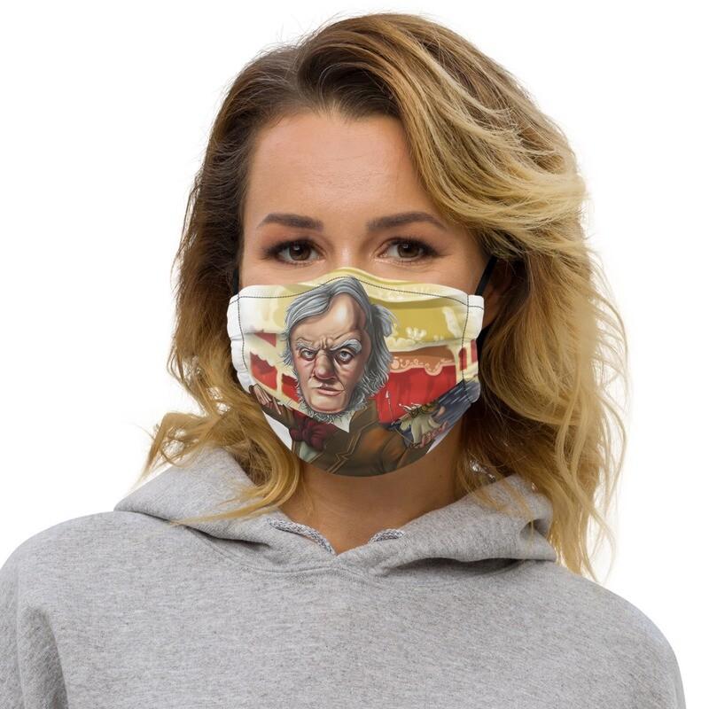 Richard Wagner Premium face mask