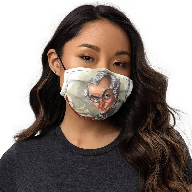 Immanuel Kant Premium face mask