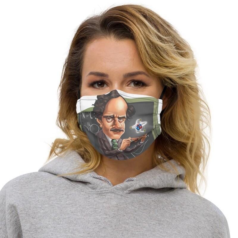 Paul Dirac Premium face mask