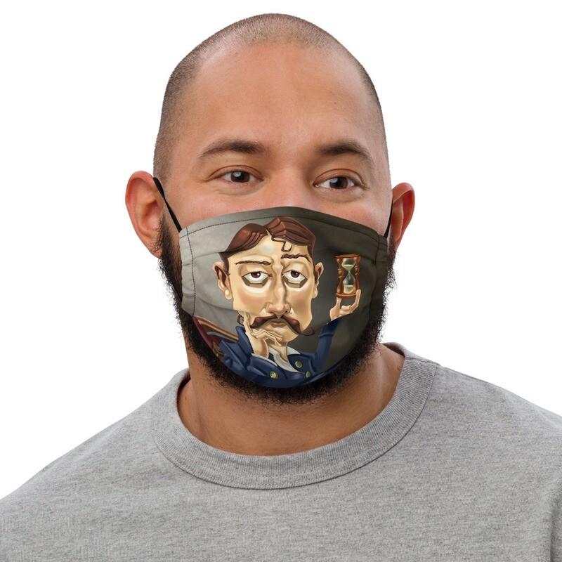 Marcel Proust Premium face mask