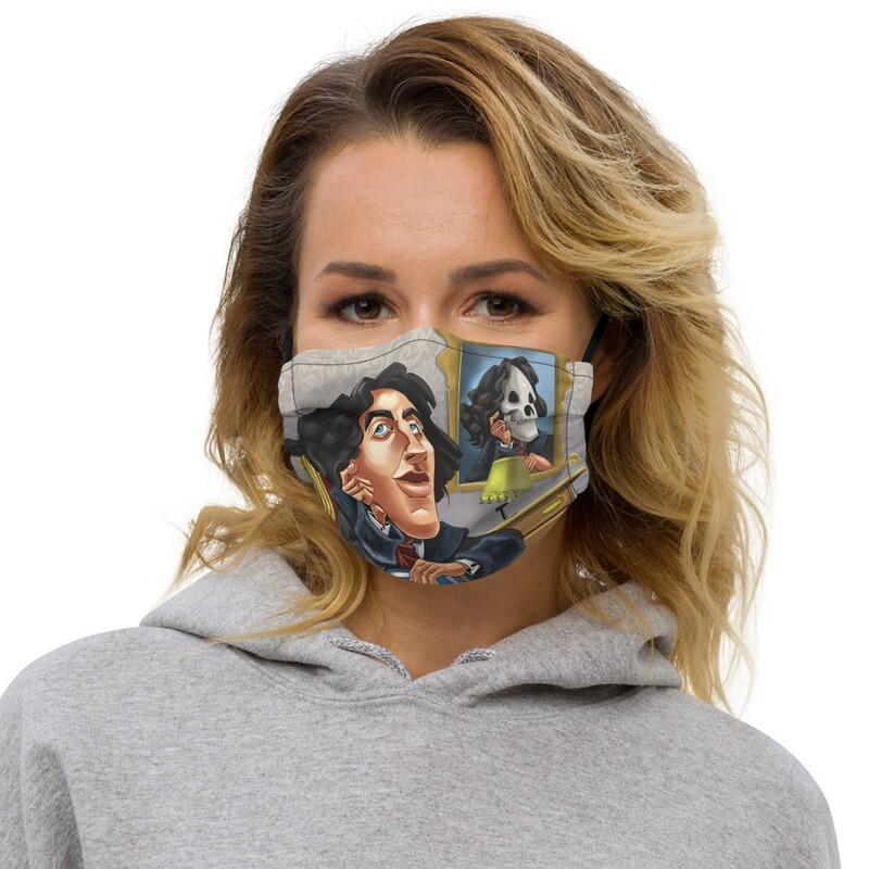 Oscar Wilde Premium face mask