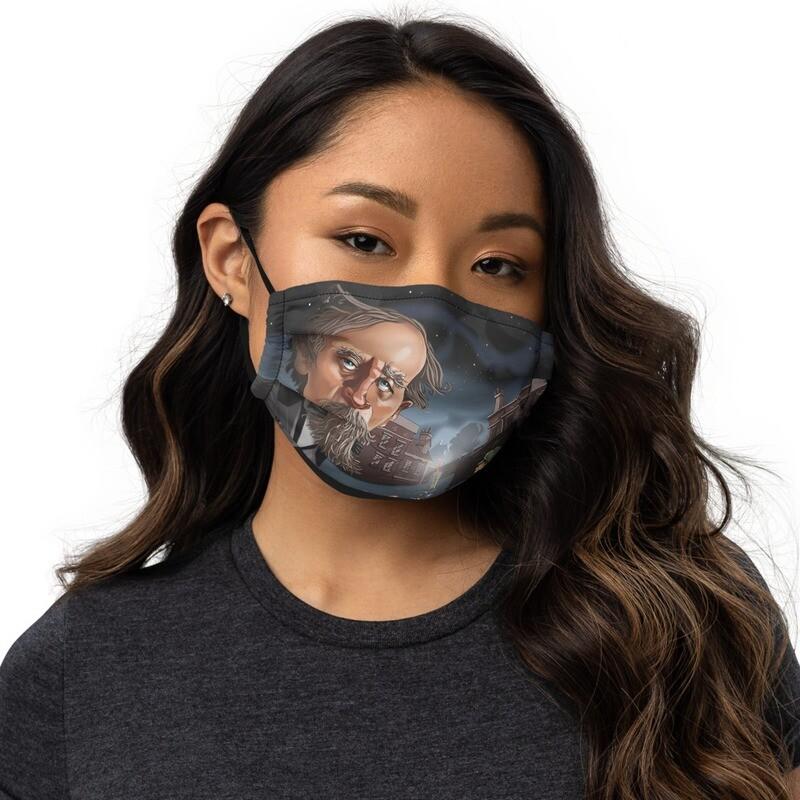 Charles Dickens Premium face mask