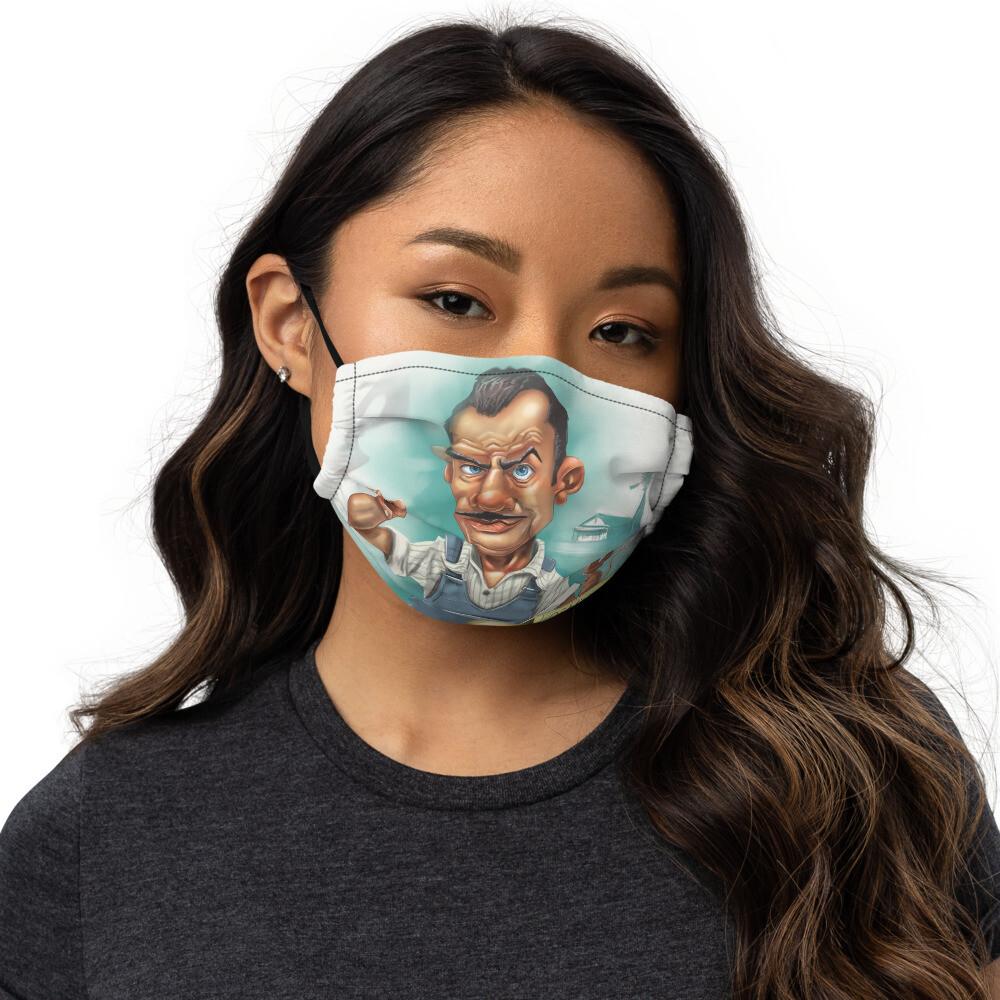 John Steinbeck Premium face mask