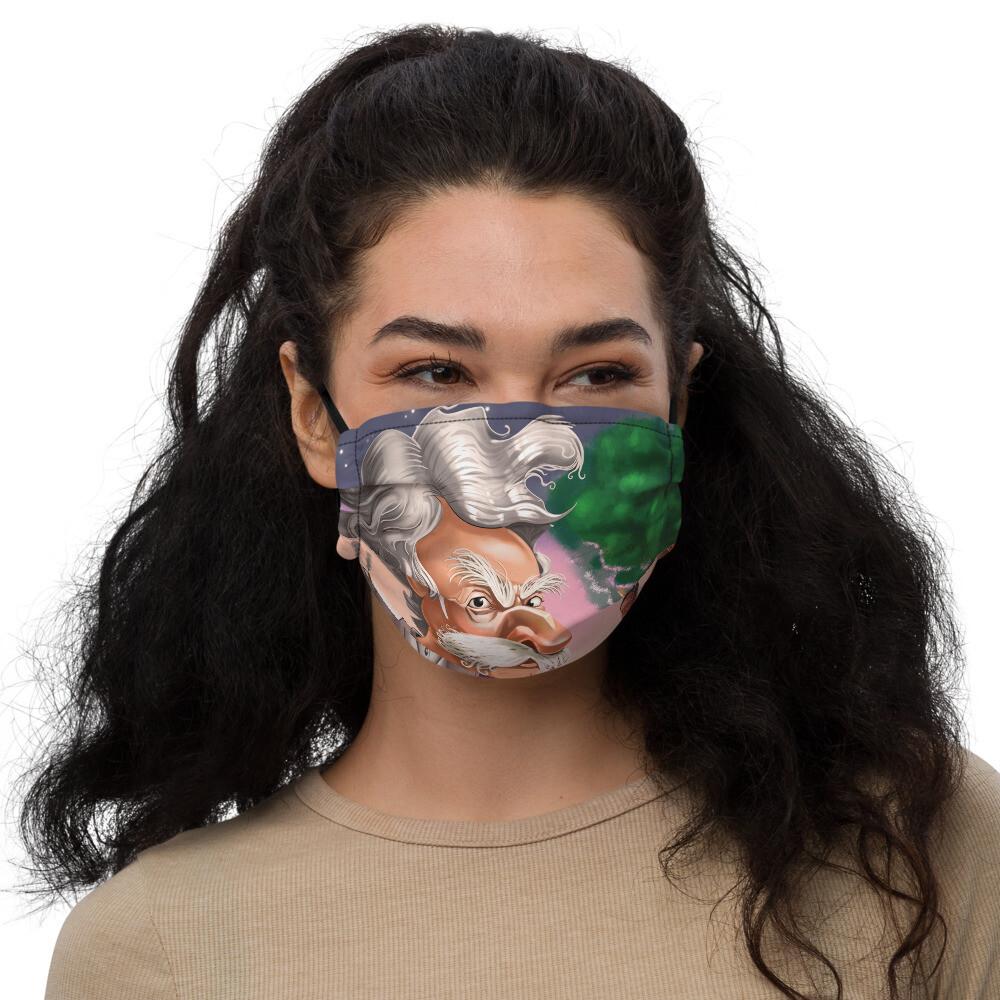 Mark Twain Premium face mask